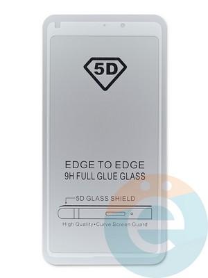 Защитное стекло 5D с полной проклейкой на Xiaomi Mi Mix 2/2S черное - фото 45142