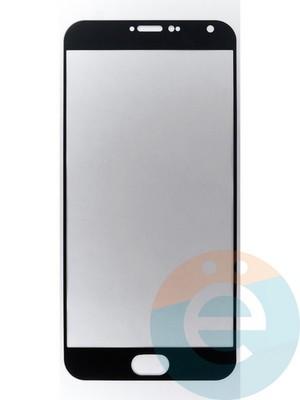 Защитное стекло 2D полноэкранное на Meizu PRO 5 чёрное - фото 45525