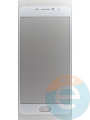 Защитное стекло 2D полноэкранное на Meizu M5 Note белое - фото 45542