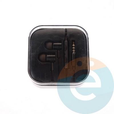 Наушники Xiaomi чёрные - фото 4807