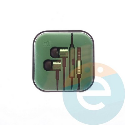 Наушники Xiaomi зелёные - фото 4809