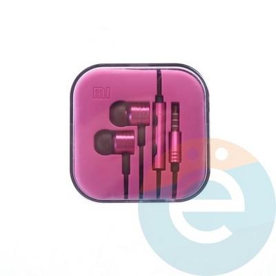 Наушники Xiaomi розовые - фото 4811