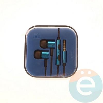 Наушники Xiaomi синие - фото 4817