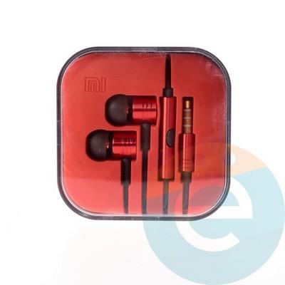 Наушники Xiaomi красные - фото 4820