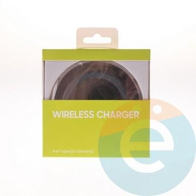 Беспроводное зарядное устройство Samsung чёрное - фото 4945