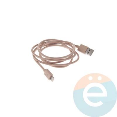 USB кабель Belkin на Lightning 1.2м золотистый - фото 10597