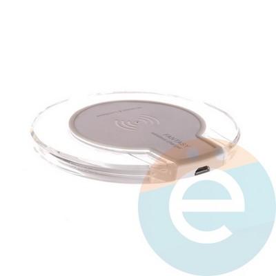 Беспроводное зарядное Hookitup устройство белый - фото 5049