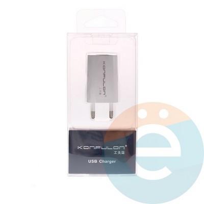 СЗУ Konfulon C13 1A на 1 USB - фото 5056