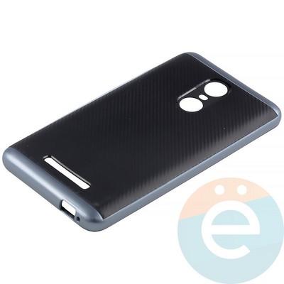 Накладка комбинированная Spigen на Xiaomi Redmi Note 3 синяя - фото 11340