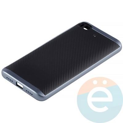 Накладка комбинированная Spigen на Xiaomi Mi 5s синяя - фото 12022