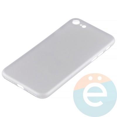 Накладка пластиковая ультратонкая на iPhone 7/8 прозрачная - фото 12028