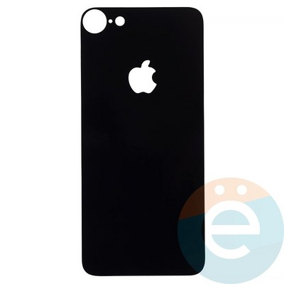 Защитная плёнка 2D на Apple iPhone 7/8 задняя часть чёрная - фото 12044