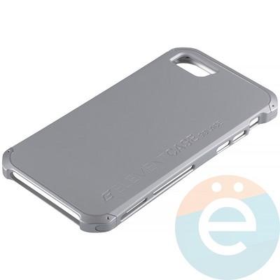 Накладка противоударная Element Case на Apple iPhone 7/8 серебристая - фото 12062