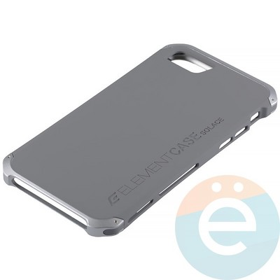 Накладка противоударная Element Case на Apple iPhone 7/8 серая - фото 12063