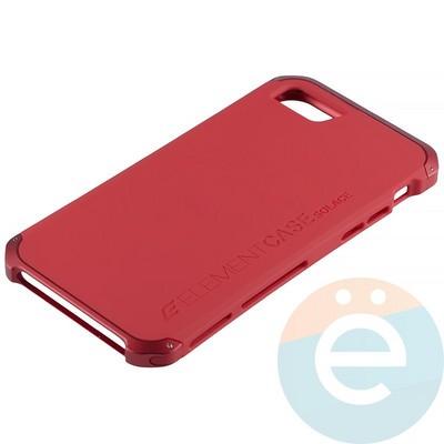 Накладка противоударная Element Case на Apple iPhone 7/8 красная - фото 12064