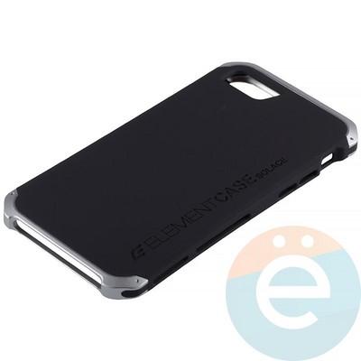 Накладка противоударная Element Case на Apple iPhone 7/8 чёрная - фото 12065