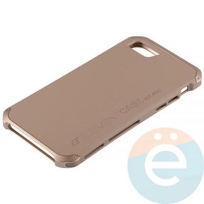 Накладка противоударная Element Case на Apple iPhone 7/8 золотистая - фото 12067