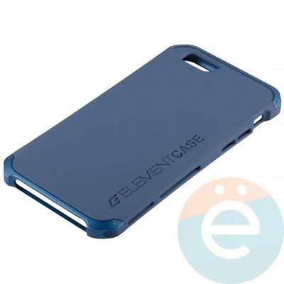 Накладка противоударная Element Case на Apple iPhone 6/6s синяя - фото 12073