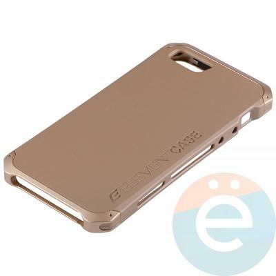 Накладка противоударная Element Case на Apple iPhone 5/5s/SE золотистая - фото 12076