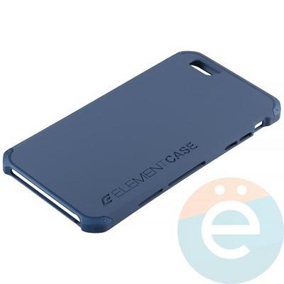 Накладка противоударная Element Case на Apple iPhone 6 Plus/6s Plus синяя - фото 12084