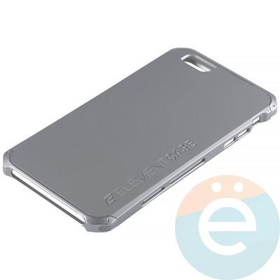 Накладка противоударная Element Case на Apple iPhone 6 Plus/6s Plus серебристая - фото 12085