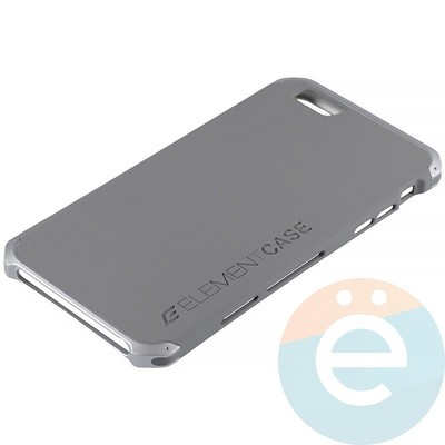 Накладка противоударная Element Case на Apple iPhone 6 Plus/6s Plus серая - фото 12087
