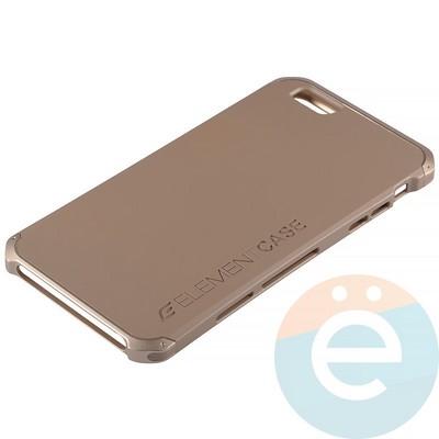 Накладка противоударная Element Case на Apple iPhone 6 Plus/6s Plus золотистая - фото 12088