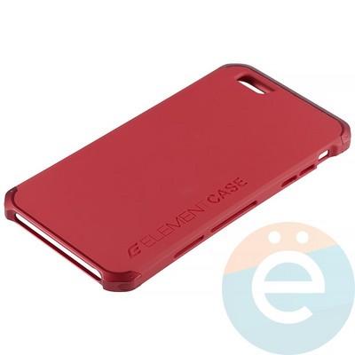 Накладка противоударная Element Case на Apple iPhone 6 Plus/6s Plus красная - фото 12616
