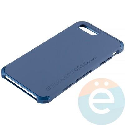 Накладка противоударная Element Case на Apple iPhone 7 Plus/8 Plus синяя - фото 12617