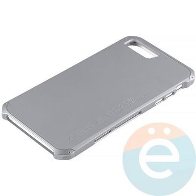 Накладка противоударная Element Case на Apple iPhone 7 Plus/8 Plus серебристая - фото 12098