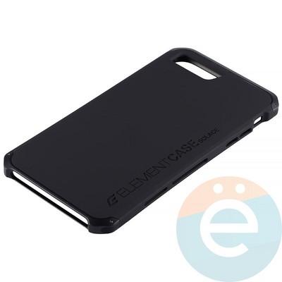 Накладка противоударная Element Case на Apple iPhone 7 Plus/8 Plus чёрная - фото 12100