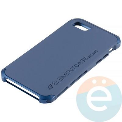 Накладка противоударная Element Case на Apple iPhone 7/8 синяя - фото 12102