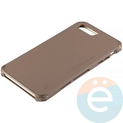 Накладка противоударная Element Case на Apple iPhone 7 Plus/8 Plus золотистая - фото 12103