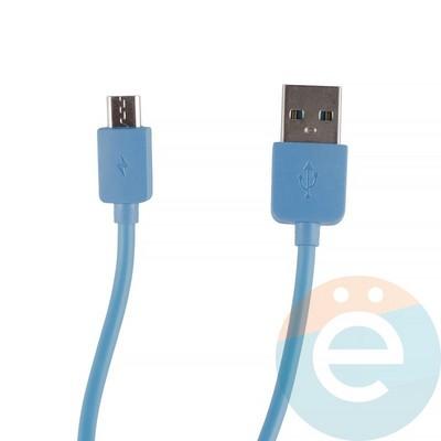 USB кабель Remax RC-06m на Micro-USB синий - фото 12274