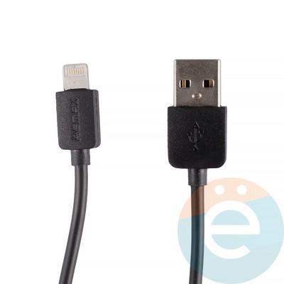 USB кабель Remax RC-06i на Lightning чёрный - фото 12285