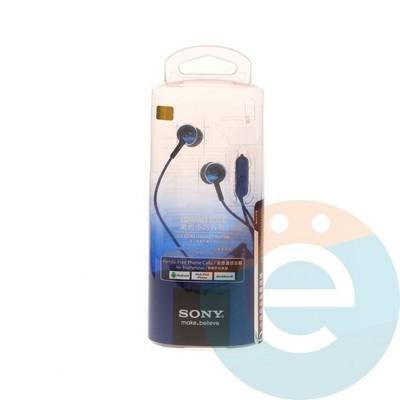 Наушники Sony MDR-EX110AP синие - фото 5210