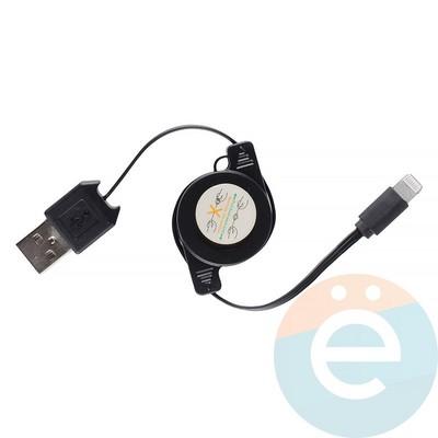 USB кабель на Lightning рулетка - фото 12674