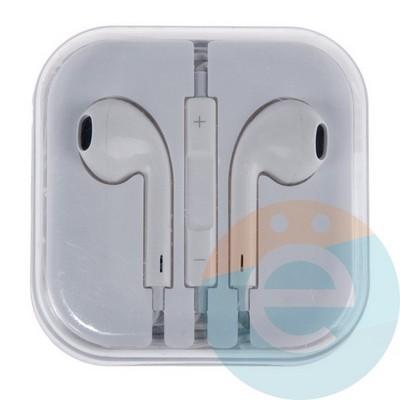Наушники-ракушки Apple EarPods для iPhone/iPad/iPod белые - фото 5216