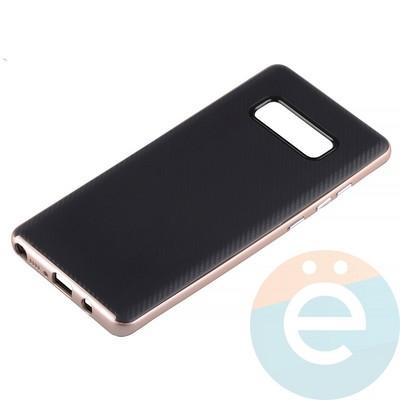 Накладка комбинированная Spigen на Samsung Galaxy Note 8 розовая - фото 14229