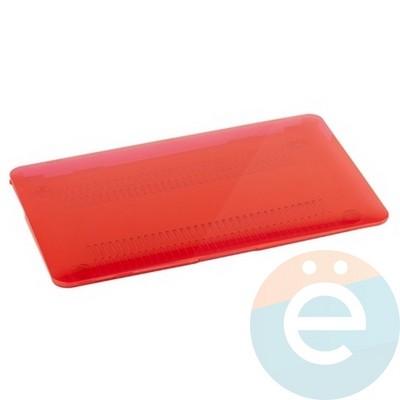 """Накладка на MacBook Pro 15.4"""" Touch Bar (1707) пластиковая глянцевая красная - фото 16574"""