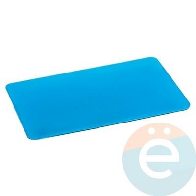 """Накладка на MacBook Pro Retina 15.4"""" пластиковая матовая голубая - фото 16045"""
