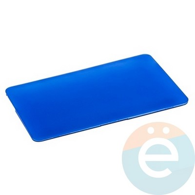 "Накладка на MacBook Air 11.6"" пластиковая матовая синяя - фото 14502"