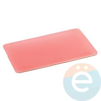 "Накладка на MacBook Pro 13.3"" Touch Bar (1706/1708) пластиковая матовая розовая - фото 16237"
