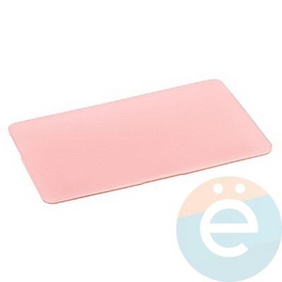 """Накладка на MacBook Pro Retina 12"""" пластиковая матовая светло-розовая - фото 16252"""