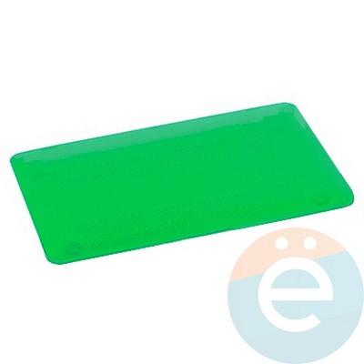 """Накладка на MacBook Pro Retina 13.3"""" пластиковая матовая зелёная - фото 14769"""