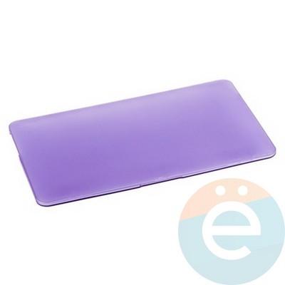"Накладка на MacBook Air 11.6"" пластиковая матовая светло-фиолетовая - фото 14522"