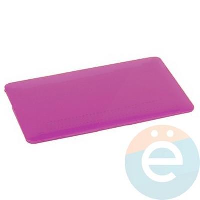 "Накладка на MacBook Air 11.6"" пластиковая фиолетовая - фото 14524"