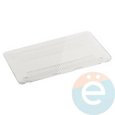 """Накладка на MacBook Air 11.6"""" пластиковая глянцевая прозрачная - фото 14530"""