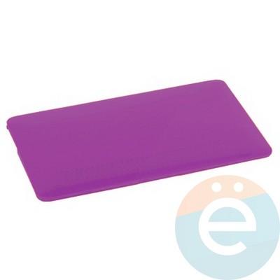 "Накладка на MacBook Pro 15.4"" Touch Bar (1707) пластиковая матовая фиолетовая - фото 16500"
