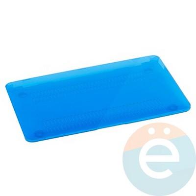"Накладка на MacBook Air 13.3"" пластиковая голубая - фото 14542"